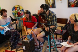 """Brooklyn's Butter the Children assembled in Austin for """"Songcraft Presents"""""""