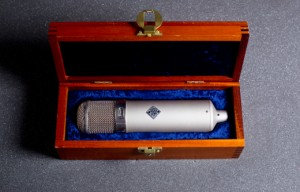 """The Neumann U 47 is """"The Real Deal""""."""