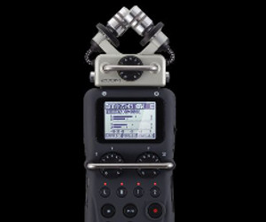 Zoom Debuts H5 Portable Recorder – High Resolution Multitrack