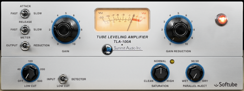 Softube emulation of a classic tube/solid-state hybrid compressor.