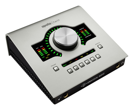 The Apollo Twin introduces UA's Unison technology, for an even deeper tracking experience.