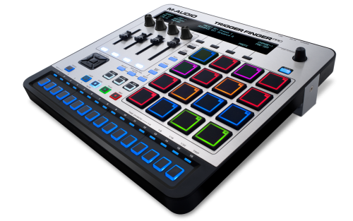 The Trigger Finger Pro is a USB controller equipped with Arsenal sound banks, internal sequencing and more.