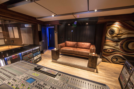The relocated rear wall and producer's desk make a major difference in legroom.