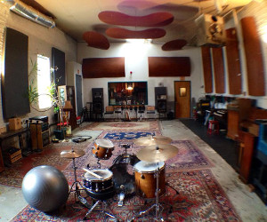 The Excello live room: Picture yourself here -- LEARNING STUFF!
